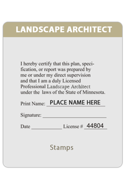 MN-Landscape Architect Certified Doc.